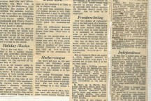 1952 – Historic newspaper article